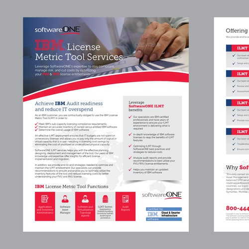 IBM License Metric Tool Service Flyer