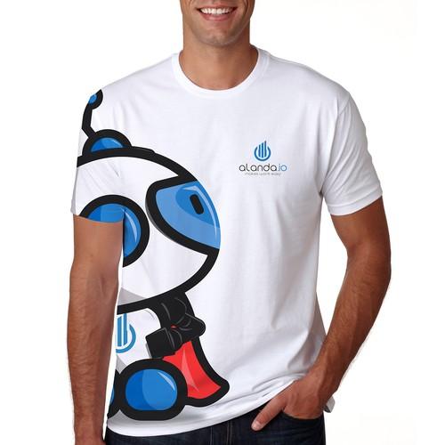 Alanda Logo Design