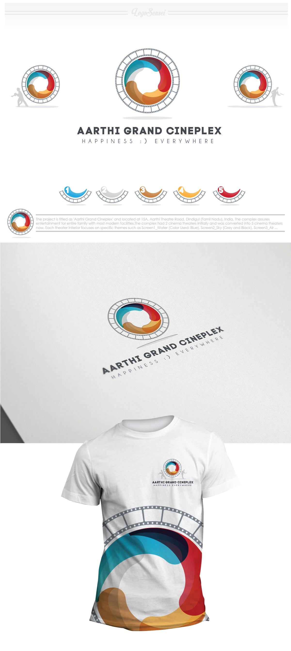 Aarthi Grand Cineplex needs a new logo