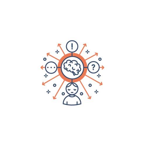 ADHD web icon design