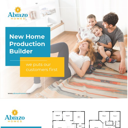 Flyer for Abrazo Homes