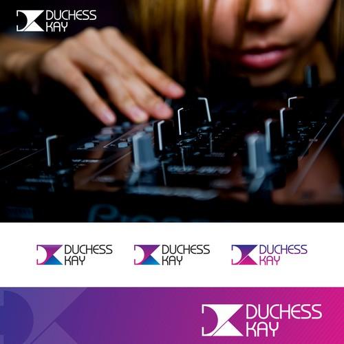 Create a NEW logo for Female Club DJ
