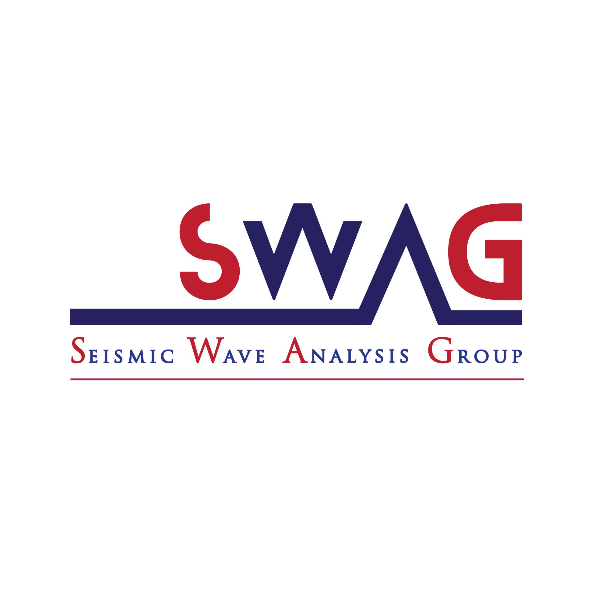 A logo for the Seismic Wave Analysis Group