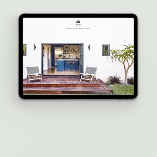 Interior design studio. Los Angeles, California.