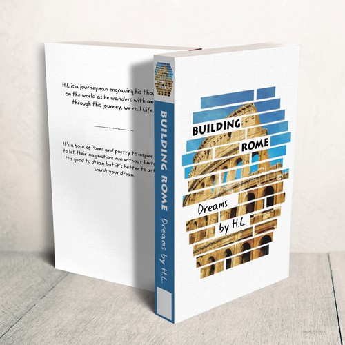 Building Rome book cover design