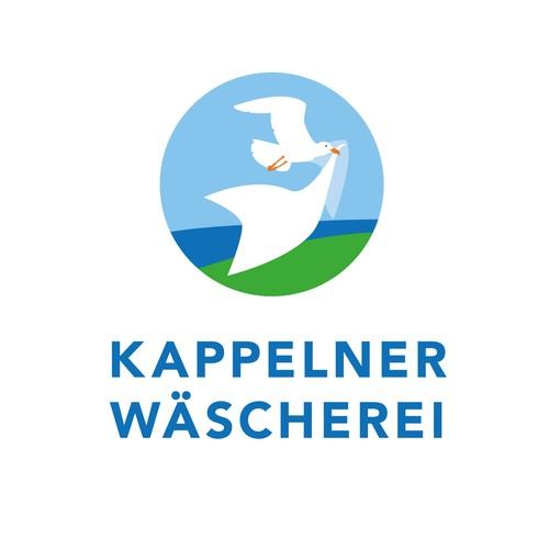 Logo Konzept für ein Wäscherei