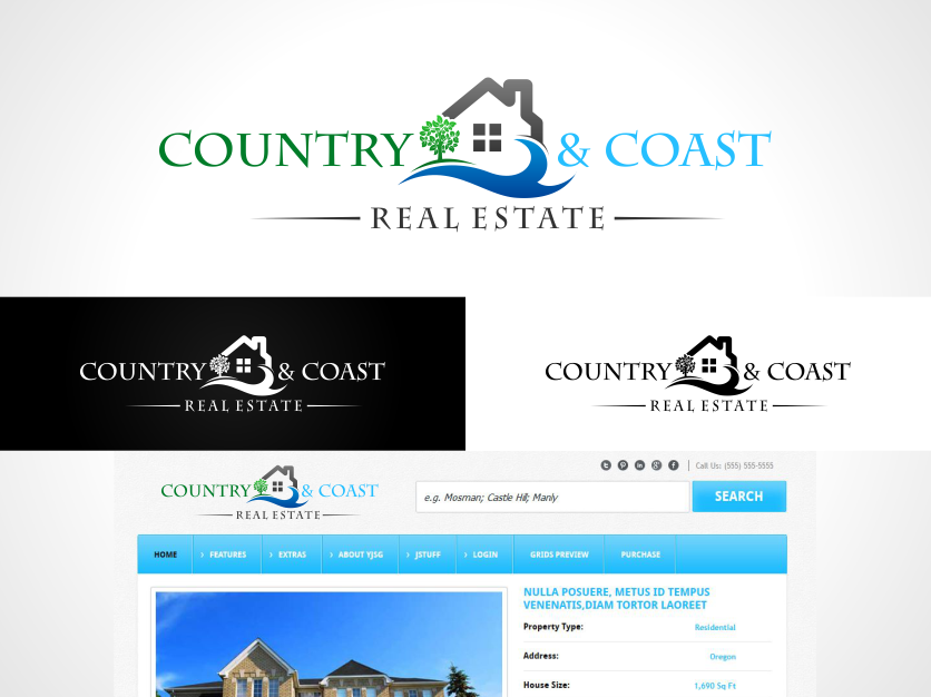 Help Country and Coast with a new logo