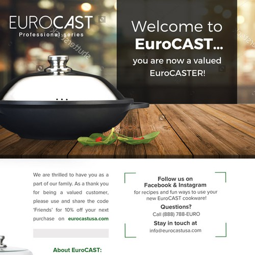 Eurocast Flyer Design