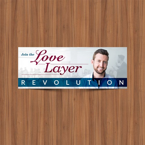 "Facebook Cover for ""Love Layer Revolution"""