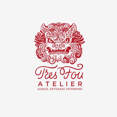 Illustrative and lettering for Tres Fou Atelier