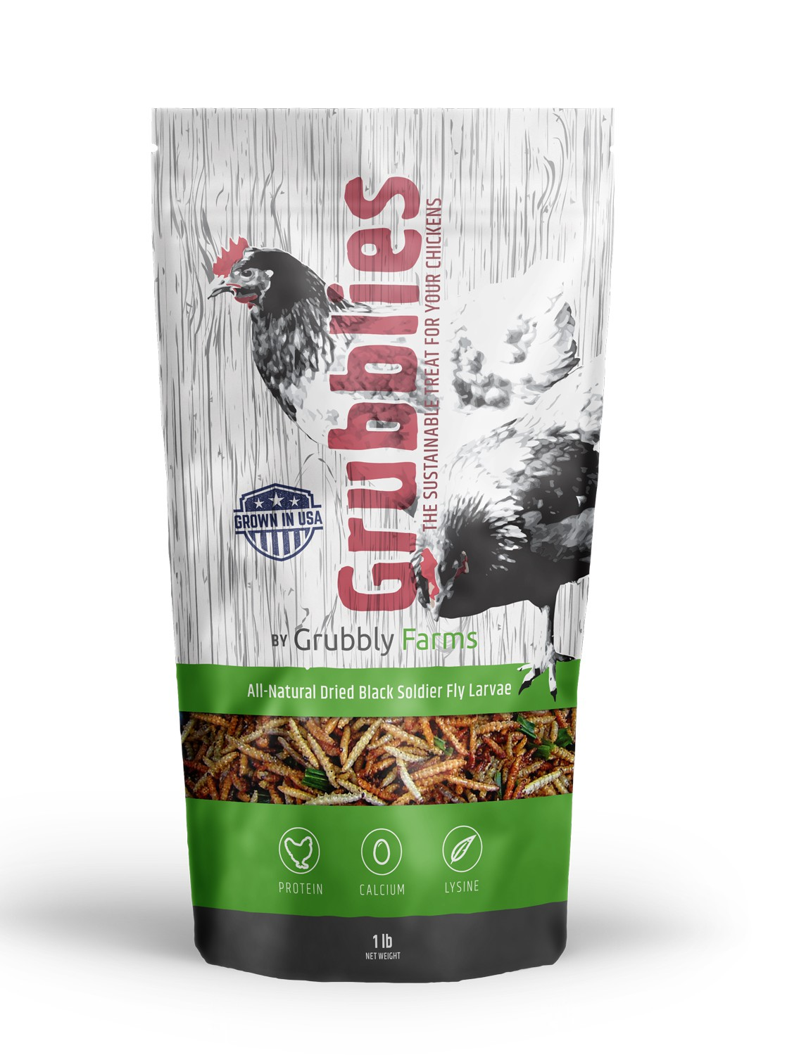 Awesome package needed for pet chicken treats!