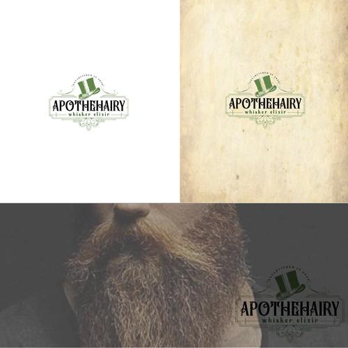 Label for beard oil