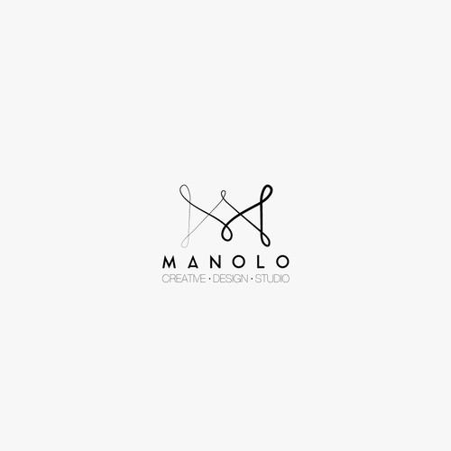 "Logo for gesign studio ""MANOLO"""