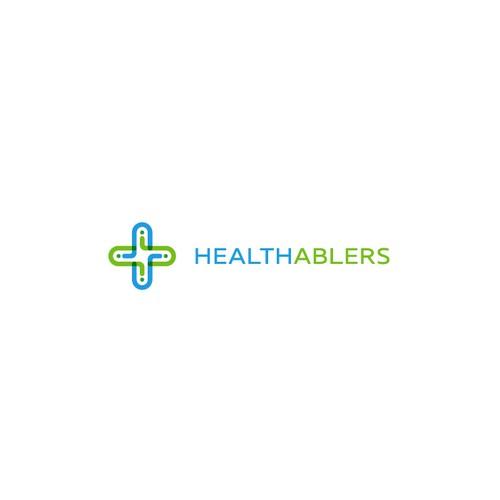 Logo for a digital healthcare enabler