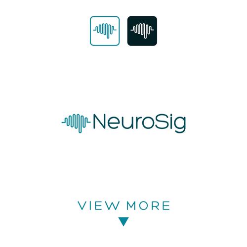 Simple creative logo concept for NeuroSig