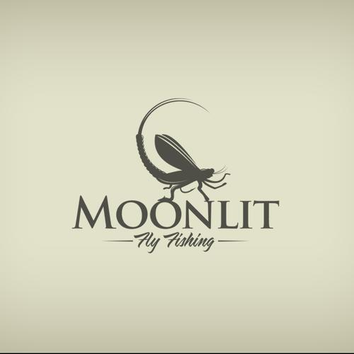 Logo for Moonlit fly fishing
