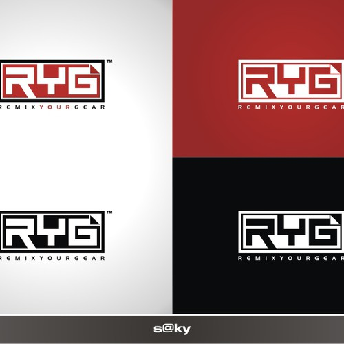 logo for new company called Remix Your Gear