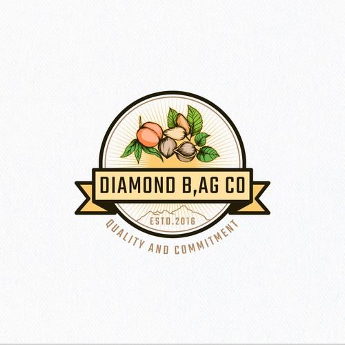 Diamond B, Ag CO Logo