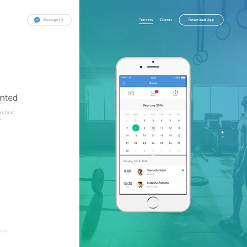 Forma - Landing Page