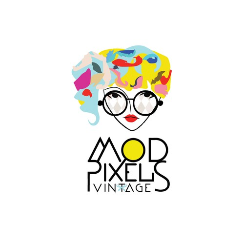 Logo for vintage glasses