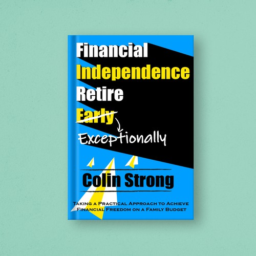 Book Cover Design about financial independence