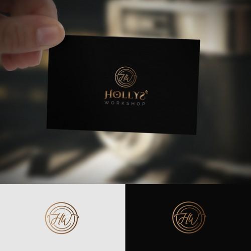 Logo concept for holly workshop