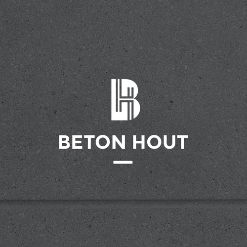 Logo concept for Beton Hout