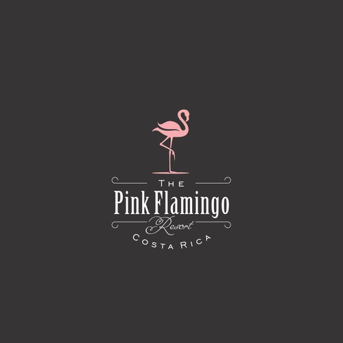 Pink Flamingo Resort Logo