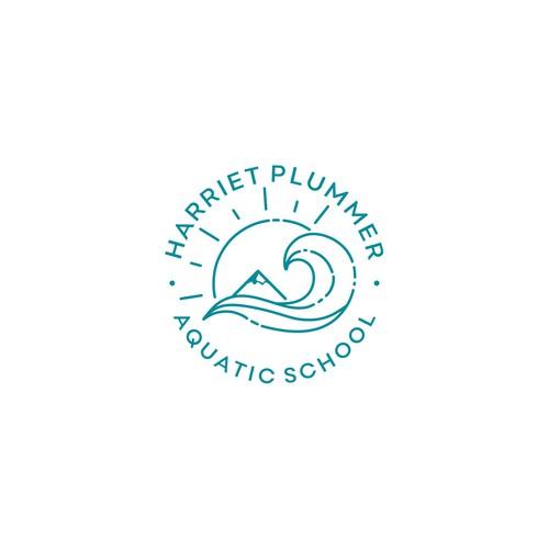 Harriet Plummer Aquatic School Logo