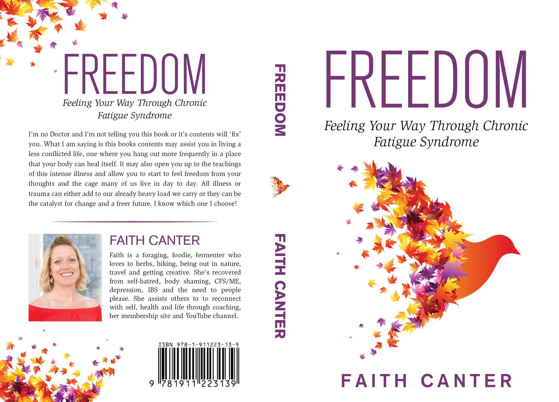 Design a book cover for Freedom