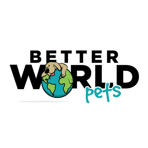 "Seeking designer to for logo and website for new pet products company called ""Better World Pets""."