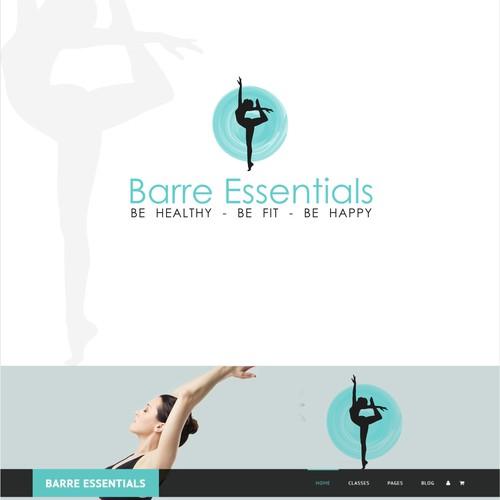 Logo for a fitness studio