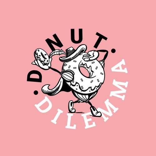 Logo Design for Donut Shop