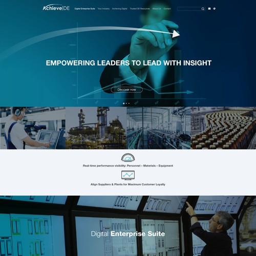 Web design for Achieve