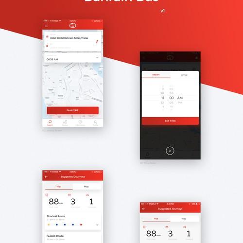 Bus Scheduling App