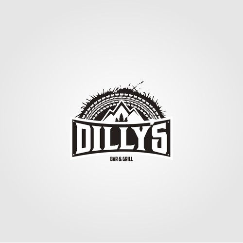 Logo for Dilly's bar and grill