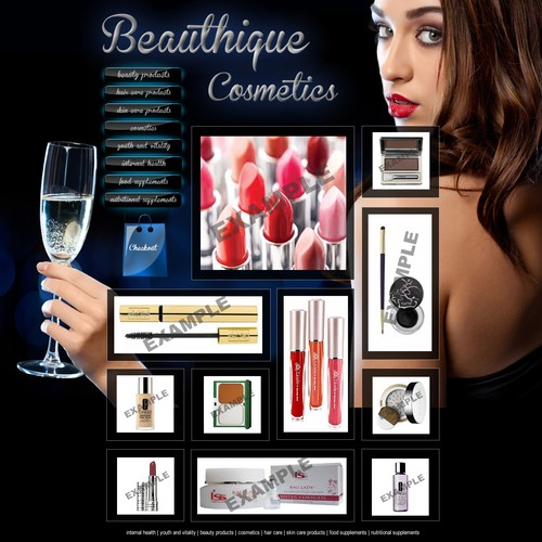 Create the next website design for BEAUTHIQUE.COM