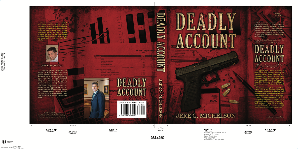 book cover for Deadly Account
