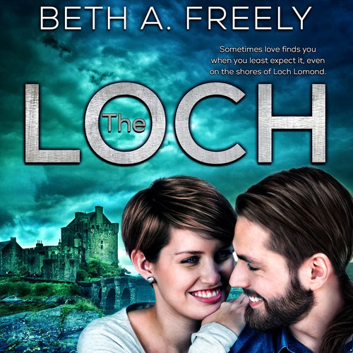 Ebook cover design - The Loch by Beth A Freely