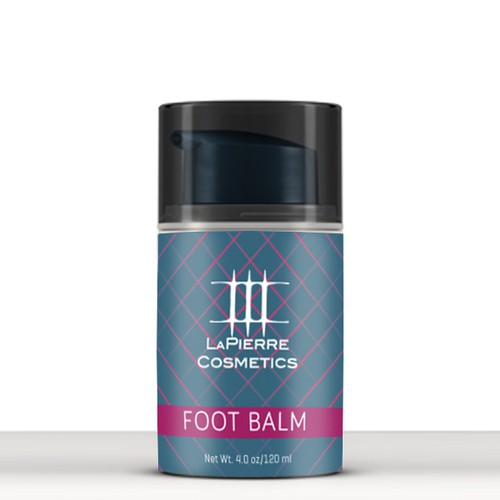 Create a vintage Foot Balm Label for New Cosmetic Company