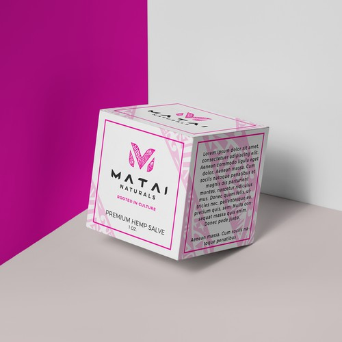 Package design for Matai Naturals