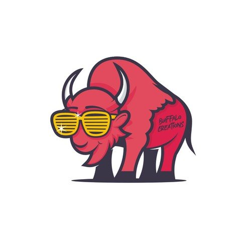 Design an epic logo for a yard decor/sign business in Buffalo