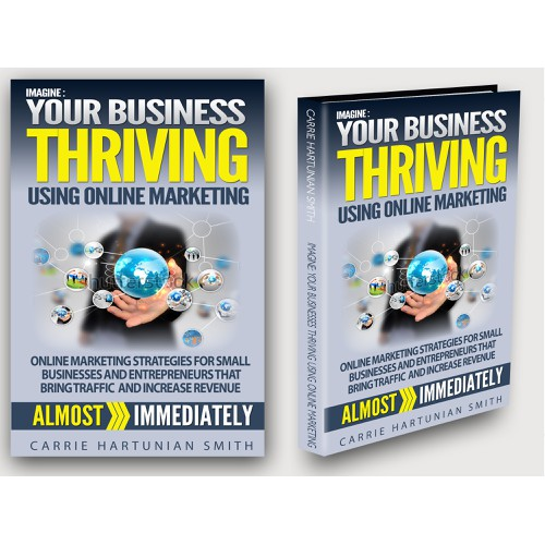 Looking for a Creative BookCover for an Online Marketing book ... something unique, not the typical