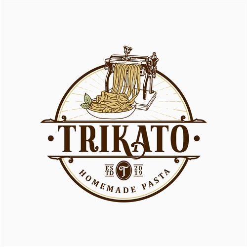 Logo for Trikato Homemade Pasta