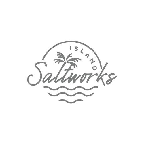 Saltwork island logo.