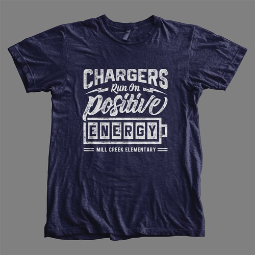 Chargers Run on Postive Energy