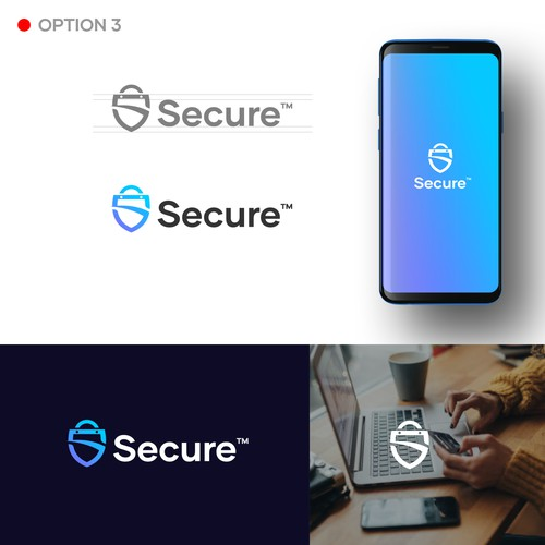 """""""S"""" for Secure."""