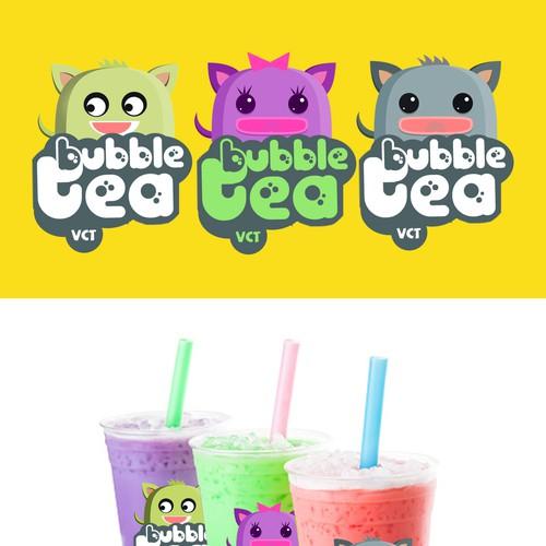 bubble tea cup design