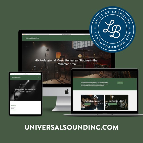 UNIVERSAL SOUND | Rehearsal Studios