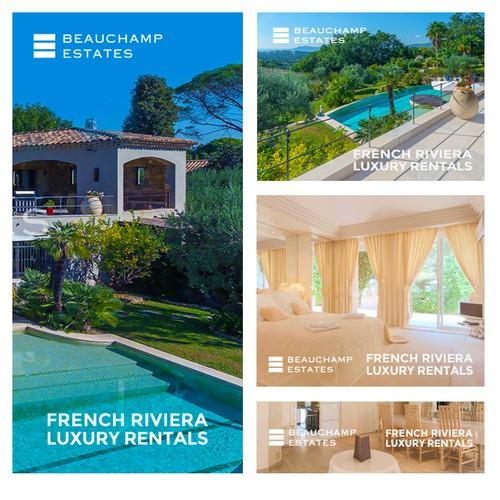 Riviera Luxury Rental Banner